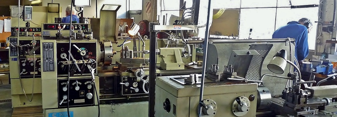 Jobbing shop lathes
